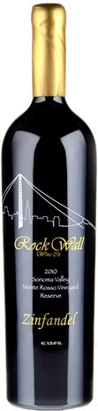 Rock Wall Zinfandel Reserve Monte Rosso Vineyard